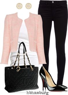 """No. 200 - Box jacket"" by hbhamburg ❤ liked on Polyvore"