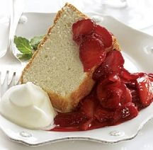 Weight watchers One point angel food cake......Delish