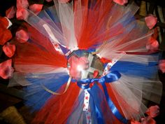 WOW Beautiful 4th of July Tutu with easy off feature WOW