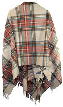 Lambswool Shawl: Antique Dress Stewart