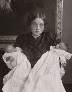 The Mother in Joy and Grief, [1911] by August Sander