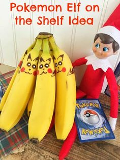 Easy Elf on the Shelf Idea for Pokemon Fans!