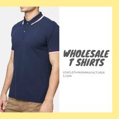 Business owners and retailers if you wish to add fashionable menswear to your retail store, contact the support team of USA Clothing Manufacturers today and request a quote for t-shirts. Wholesale Blank T Shirts, Wholesale Blanks, Popular Clothing, Bulk Order, Popular Outfits, Polo T Shirts, Trendy Fashion, The Help, Retail