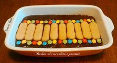 Budino al cioccolato e pavesini