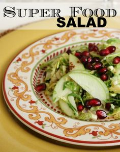 Brussels Sprout Salad with Apple and Pomegranate