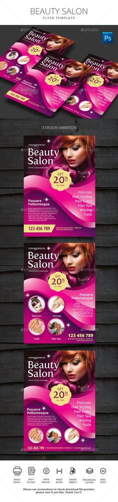 Cosmetic Store Flyer | Store Flyers, Flyer Printing And Flyer Template