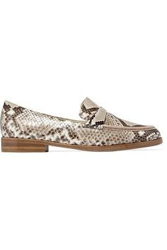 Alexandre Birman - Python Loafers - Snake print - IT35.5