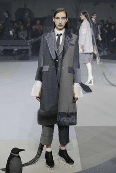 Thom Browne, Automne/Hiver 2017, New York, Womenswear