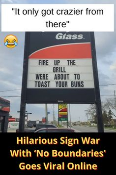 The Streaming Wars are in full swing and the Console Wars have been waging for nearly two decades. But in Listowel, Ontario, a battle is brewing that seeks to rival even the mightiest mainstream media spat. Prepare to bear witness to the Sign Wars!