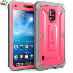 Samsung Galaxy S5 Active Case, Hard Cover Rugged Hybrid Shockproof Impact Armor #Supcase