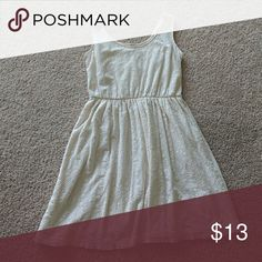 Cream Dress Perfect for summer!  Only wore this twice-it's a little too short for me.  Very comfortable and flattering; I was always got complements when I wore this. Mossimo Supply Co. Dresses