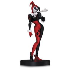 The sheer wackiness of Harley Quinn, former girlfriend of The Joker and all-around whack-job, is captured in this statue in the style of her co-creator, legendary animator Bruce Timm! The DC Comics De