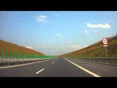 Autostrada Soarelui from Feteşti through two Danube's bridges to Constanţa Romania, Bridges, A4, Youtube, Youtubers, Youtube Movies