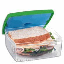 Our Lunch Pod is personal #dining on the go! This convenient sandwich container is the perfect size to take a healthy sandwich or lunch with you to work, school, or play. The removable ice pack snaps into the lid to keep your lunch chilled and fresh until you are ready to eat!