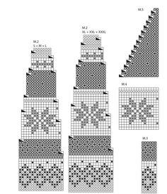 """Fjord Rose - Gebreide DROPS muts en trui met Noors patroon van """"Alpaca"""". Maat: S - XXXL. - Free pattern by DROPS Design"""