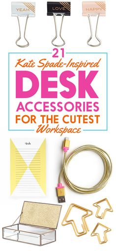 21 Kate Spade-Inspired Desk Accessories That Are Less Than $20