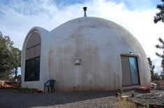 In addition to being safe, sturdy and weather resistant – Monolithic domes are extremely cheap, easy to build, and energy efficient. They are fire-resistant, mold-resistant and impervious to rot. They've become the building type of choice in disaster relief areas, as they can often be erected in a couple of weeks with minimal materials and resources.