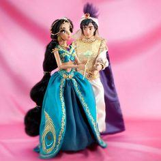 Edición limitada - Muñecas de cuentos de hadas... Jasmine y Aladín
