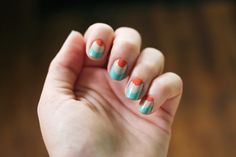 10 of my favorite nail designs from 2012 | The Dainty Squid
