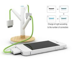 giving-tree-charger-concept Some kind of charging system for conference rooms