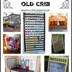 Have an old crib and don't know what to do with it? I love repurposing items so here are 10 great ways to repurpose a baby crib.