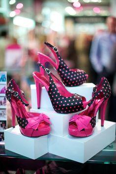 Polka dot pretty ♥ Barbie by Town Shoes