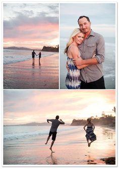 Lisa + Derek's Butterfly Beach Engagement by Julia Franzosa Photography   Borrowed & Bleu