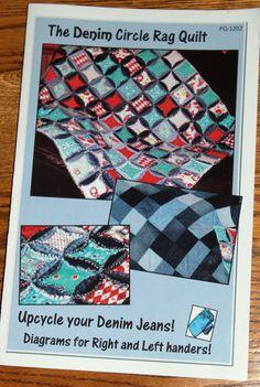 The Denim Circle Rag quilt
