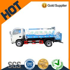 High quality gold supplier Donfeng 12cubic water tanker truck