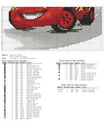 Gallery.ru / Фото #2 - νοστρα - ergoxeiro Cross Stitch Baby, Cross Stitch Charts, Cross Stitch Embroidery, Disney Cross Stitch Patterns, Cross Stitch Designs, Stitch Character, C2c Crochet, Disney Cars, Baby Gifts