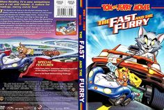 Tom and Jerry The Fast and The Furry - Movie DVD Scanned Covers - jerry fast and fury Tom And Jerry, Reality Tv, Box Art, Cover Art, Cartoon, History, Fun, Movies, Hollywood