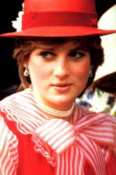 June 18, 1981: Lady Diana Spencer at Royal Ascot in London.