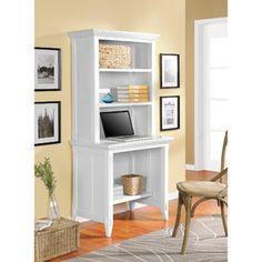 Altra Amelia Desk With Hutch Bookcase