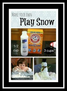 Play snow. 17 Holiday Science Labs. A Propensity to Discuss post.