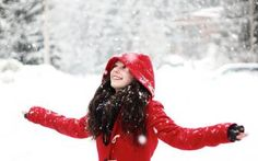 Happy girl in the snow wallpaper 1920x1080 - gdebet