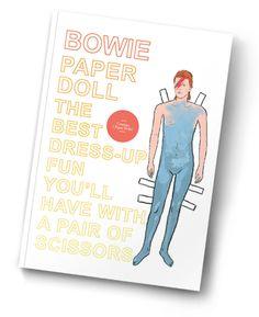 Бумажная кукла David Bowie | Interview Россия
