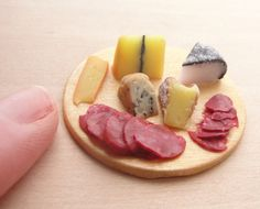 Cheese and Meat Board by *fairchildart on deviantART