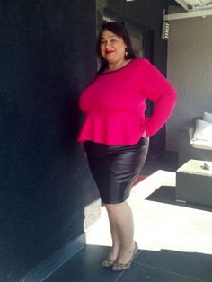 """Flattering fashion for fuller figures - MARLY is a flattering fashion brand that really knows how to dress a woman with a fuller figure and make her """"feel like a million dollars!"""" www.essentials.co.za"""