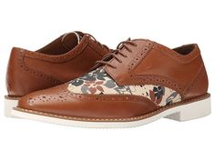 Stacy Adams Sweeney Tan/Floral Suede - Zappos.com Free Shipping BOTH Ways