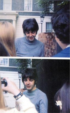 paul being nice to fans