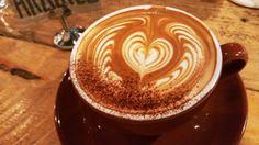 Sea Salt Caramel Latte #coffee #cafes #latte #LatteArt #caffeinefix #foodie #Singapore