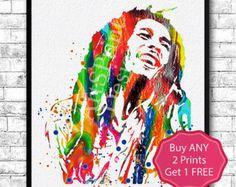 bob marley poster – Etsy AU