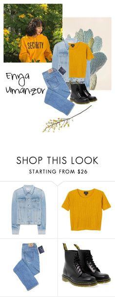 """Enjajaja inspired outfit"" by kamication ❤ liked on Polyvore featuring rag & bone, Monki, Dr. Martens and Crate and Barrel"