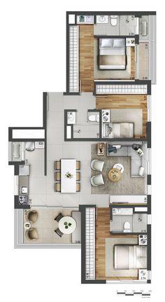 Alfa Realty | Jazz Villa Pinheiros Apartamento-Pinheiros-São Paulo
