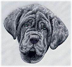 Detailed design documentation - colors, thread consumption, etc. Dog Pattern, Pattern Design, Dog Design, Embroidery, Patterns, Dogs, Color, Art, Block Prints