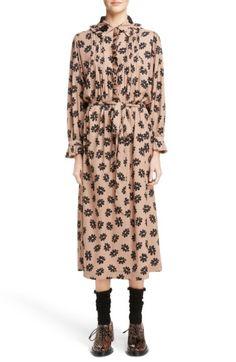 SIMONE ROCHA WOMEN'S SIMONE ROCHA BEADED PLEAT FRONT SHIRTDRESS. #simonerocha #cloth #