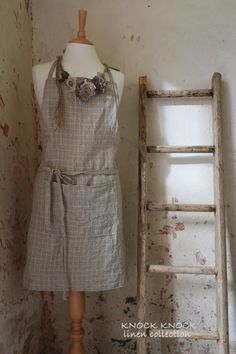 Handmade Linen Apron Timeless And Elegant Design