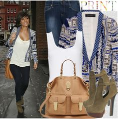 """569. Celebrity Style: Frankie Sandford"" by chocolatepumma ❤ liked on Polyvore"