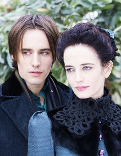 Penny Dreadful - Reeve Carney as Dorian Gray and Eva Green as Vanessa Ives