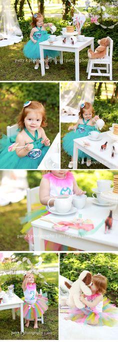 Enchanted Tea Party Minis | Imagination Session | Eveyln | Raeford, NC Child Photographer | Patty K Photography